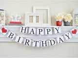 Happy Birthday Banner for Adults Happy Birthday Banner Birthday Sign Adult Birthday Banner