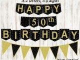 Happy Birthday Banner for Adults Happy Birthday Banner Personalized Adult Bunting Banner Etsy
