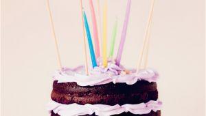 Happy Birthday Banner for Cake Festive Banner Rustic Birthday Cake