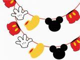 Happy Birthday Banner Free Printable Mickey Mouse Mickey Mouse Banner Magical Printable