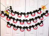 Happy Birthday Banner Free Printable Mickey Mouse Mickey Mouse Birthday Banner Mickey Mouse 1st Birthday Party