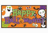 Happy Birthday Banner Halloween Cute Design Halloween Banner Photo Backdrop Party