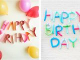 Happy Birthday Banner Homemade Diy Birthday Banners Hooray Mag