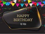 Happy Birthday Banner Images Background Happy Birthday Background with Glass Banner Vectors 09