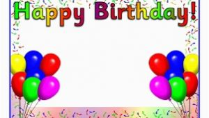 Happy Birthday Banner Images with Name Birthday Board Timeline Display Headings Printable