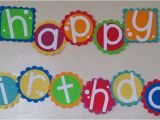 Happy Birthday Banner In Usa Birthday Banner Being Genevieve