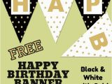 Happy Birthday Banner In Usa Free Happy Birthday Banner Printable 16 Unique Banners