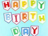 Happy Birthday Banner Individual Letters Free Printable Happy Birthday Banner Letters Printable Pages