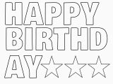 Happy Birthday Banner Individual Letters Happy Birthday Letters to Print Printable 360 Degree