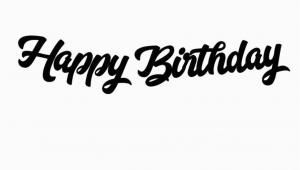 Happy Birthday Banner Kaise Banaye Happy Birthday Banner Iridescent Bash Party Goods