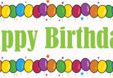 Happy Birthday Banner Kek Free Happy Birthday Sign Download Free Clip Art Free