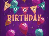 Happy Birthday Banner Layout Birthday Tarpaulin Background Free Vector Download 51 302