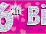 Happy Birthday Banner Lazada Pink 6th Happy Birthday Banner 5055370624382 1 25