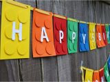 Happy Birthday Banner Lego 12 Fun Ideas for A Lego Party Celebrate Decorate