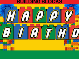 Happy Birthday Banner Lego Banners Archives Cupcakemakeover