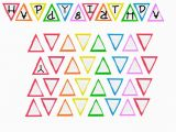 Happy Birthday Banner Letter Template Free Printable Happy Birthday Banner
