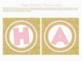 Happy Birthday Banner Letters Pdf Printable Birthday Banner Letters Letter Bestkitchenview Co