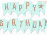 Happy Birthday Banner Letters Printable Free Printable Happy Birthday Banner Birthday Ideas