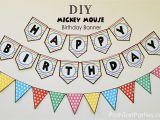 Happy Birthday Banner Maker Online Free Free Printable Birthday Banners Personalized Printable