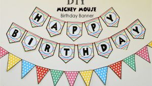 Happy Birthday Banner Maker Online Free Free Printable Birthday Banners Personalized Printable