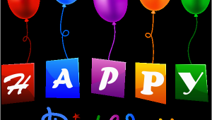Happy Birthday Banner Marathi Png Happy Birthday with Balloons Png Clipart Image Gallery