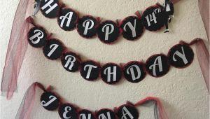 Happy Birthday Banner Michaels Michael Jackson Inspired Birthday Banner Michael Jackson