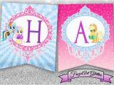 Happy Birthday Banner My Little Pony My Little Pony Banner Happy Birthday Banner by Frezeartglitter