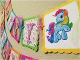 Happy Birthday Banner My Little Pony My Little Pony Birthday Banner Party by Celebrationbanner