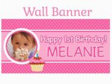 Happy Birthday Banner Outdoor Items Similar to Happy 1st Birthday Banner Personalize