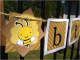Happy Birthday Banner Outdoor Items Similar to Outdoor Bee themed Happy Birthday Banner