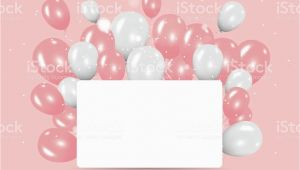 Happy Birthday Banner Pastel Colors Color Pastel with Happy Birthday Balloons Banner