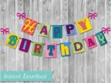 Happy Birthday Banner Pdf Diy Printable Pdf It 39 S A Small World Happy Birthday Banner