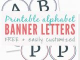 Happy Birthday Banner Pdf Happy Birthday Banners Printable Template Letters Banner