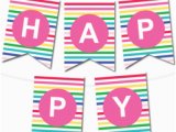 Happy Birthday Banner Per Letter Printable Printable Banners Make Your Own Banners with Our