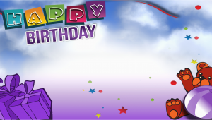 Happy Birthday Banner Photo Full Hd Happy Birthday Banner Purple Bear Vinyl Banners