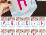 Happy Birthday Banner Printable Free Download Free Printable Birthday Banner Six Clever Sisters