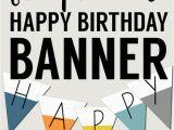 Happy Birthday Banner Printable Free Printable Happy Birthday Banner Paper Trail Design