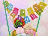 Happy Birthday Banner Publix Cake Cake topper 39 Happy Birthday 39 Banner