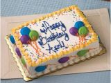 Happy Birthday Banner Publix Cake Food Entertaining Bakery Selections Decorated Cakes