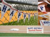 Happy Birthday Banner Ready to Print Baseball Banner Happy Birthday Concessions Welcome Baby