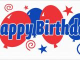 Happy Birthday Banner Red White and Blue Flagz Group Limited Flags Happy Birthday Flag Flagz
