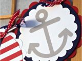 Happy Birthday Banner Red White and Blue Happy Birthday Banner Nautical Bunting by Onefantasticparty