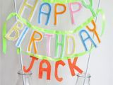 Happy Birthday Banner Sainsburys Diy Felt Birthday Banner A Bird and A Bean