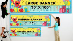 Happy Birthday Banner Size Standard Printed Banner Sizes Arts Arts
