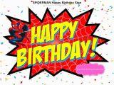 Happy Birthday Banner Spiderman Spiderman Happy Birthday Sign Instant Download Spiderman