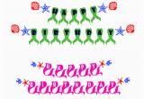 Happy Birthday Banner Svg File Hawaii Happy Birthday Banner Cuttable Design