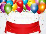 Happy Birthday Banner Svg Happy Birthday Banner Background Stock Vector