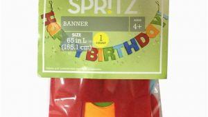 Happy Birthday Banner Target Felt Happy Birthday Banner Spritz Target