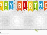 Happy Birthday Banner Template Editable Happy Birthday Banner Background Editable Vector