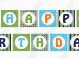 Happy Birthday Banner Template Free Download Dinosaur Diy Banner Birthday Collection Printable Party